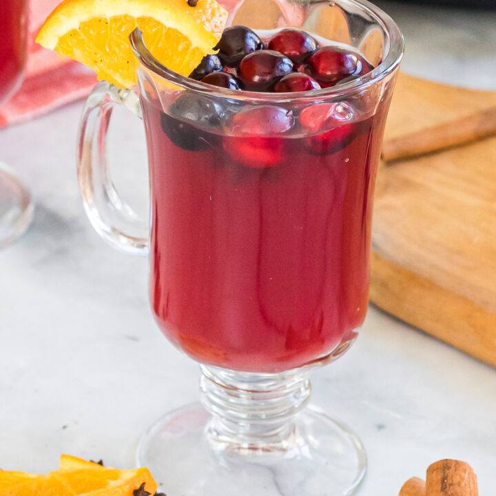 Slow Cooker Spiked Wassail