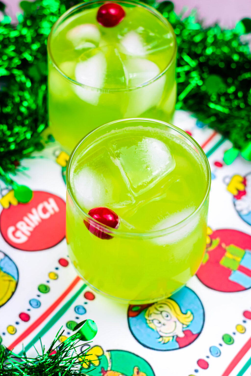 how to make a grinch drink