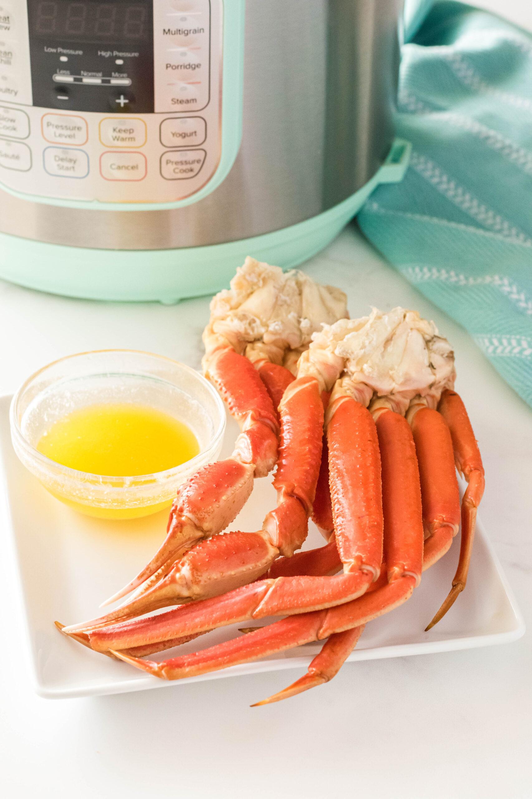 Instant Pot Crab Legs Simplistically Living