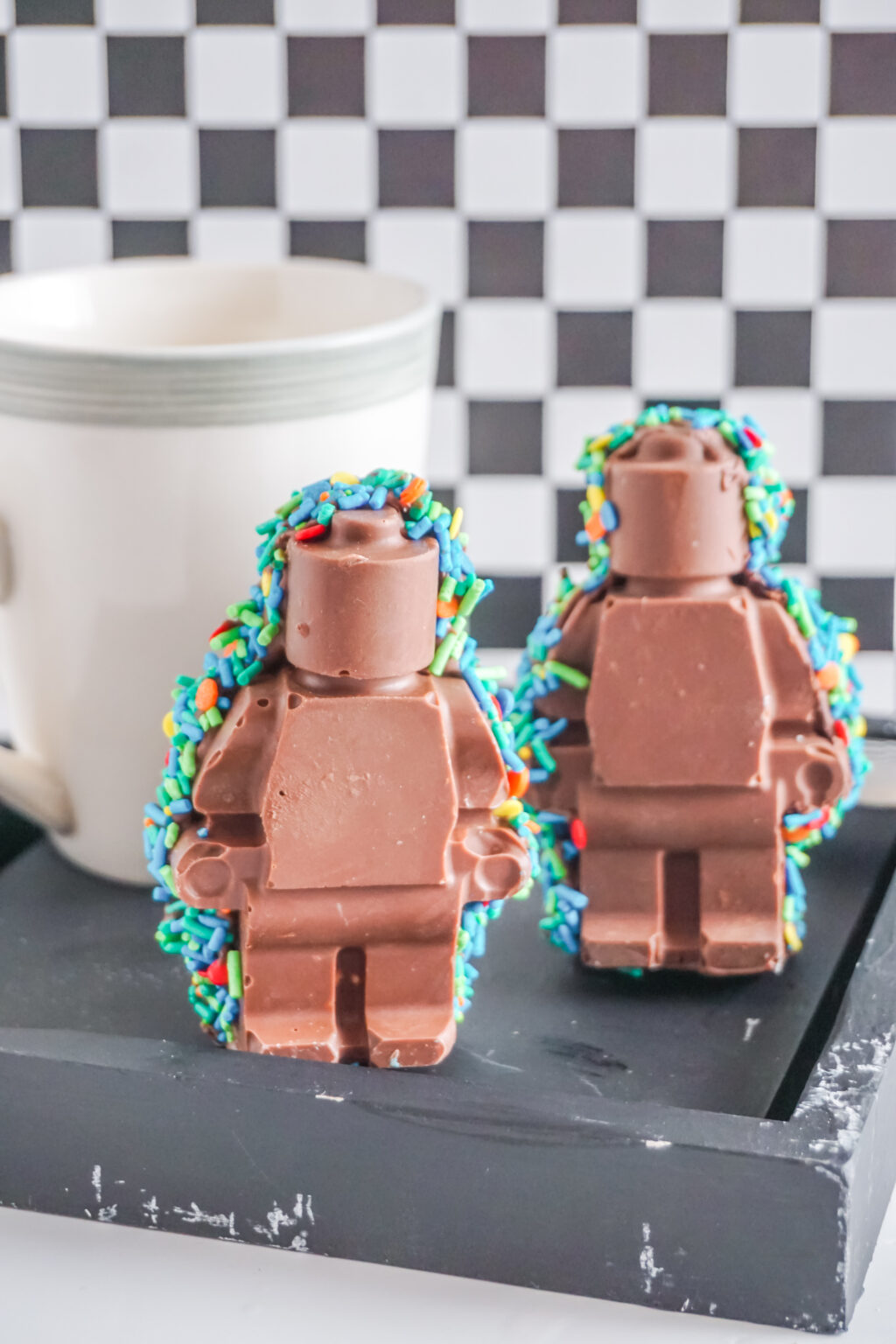 lego man hot cocoa bomb