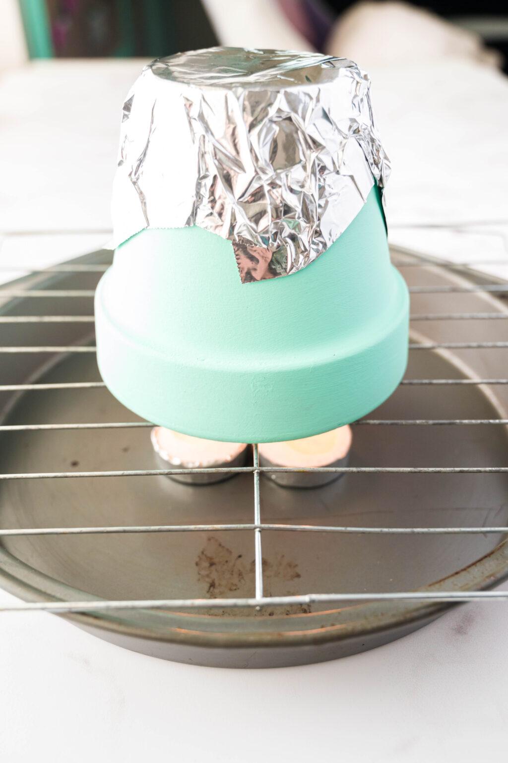 flower pot heater
