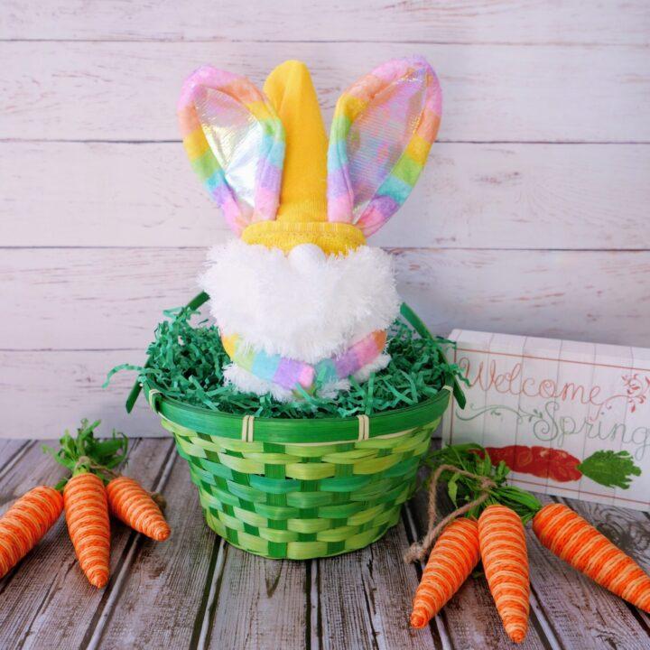 Rainbow Bunny Gnome