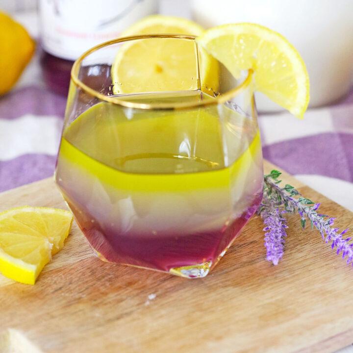 Lavender Lemon Cocktail