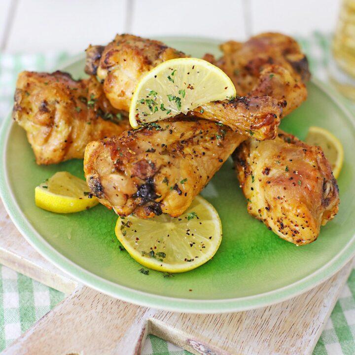 Lemon Pepper Chicken Legs