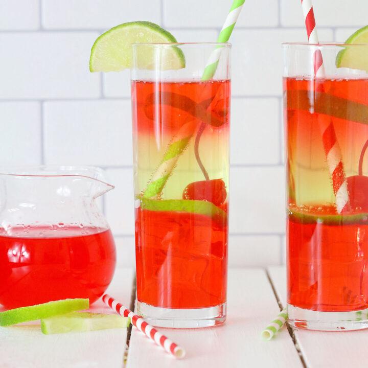 Vodka Cherry Limeade Cocktail