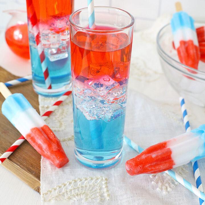 Bomb Pop Cocktail