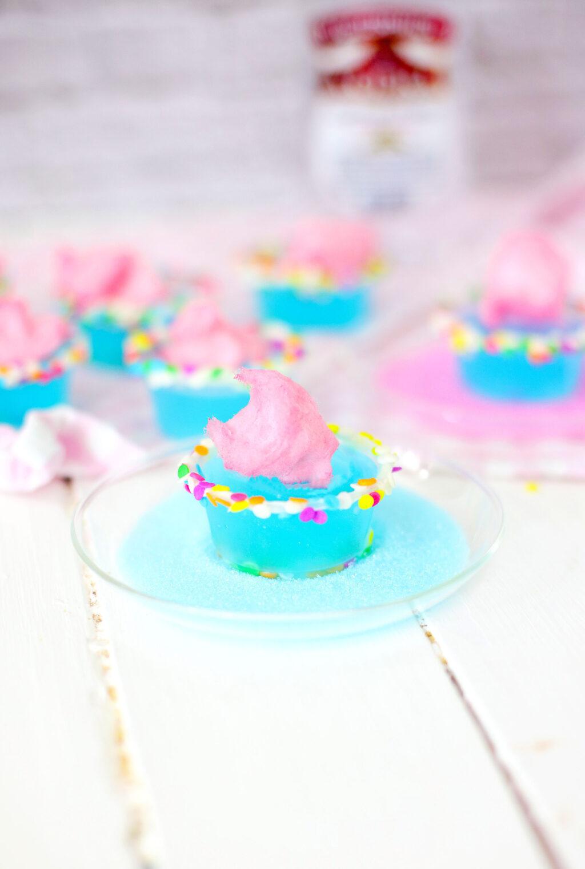 cotton candy jello shots