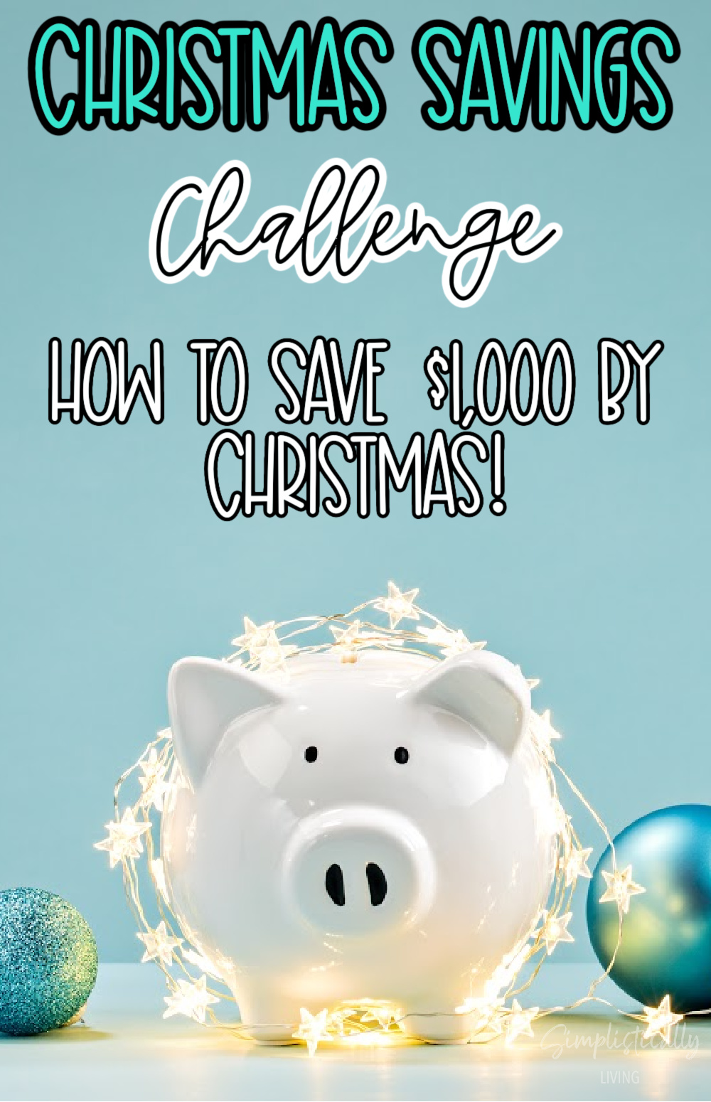 christmas saving challenge
