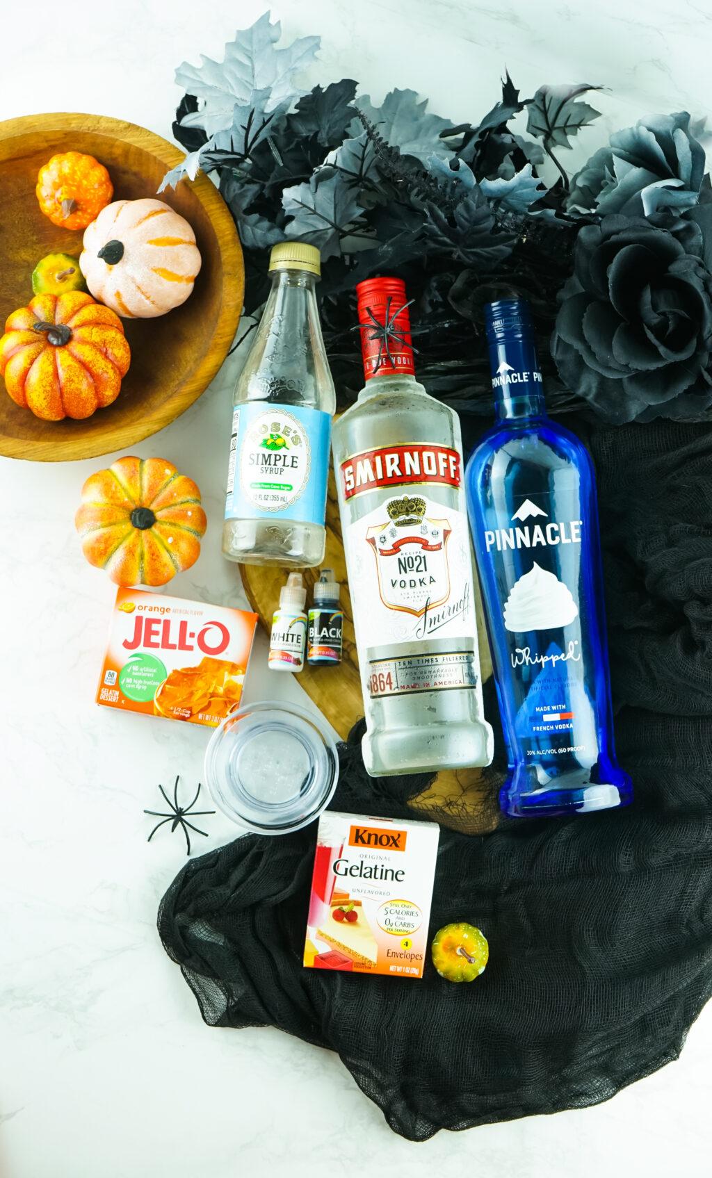 jack skellington jello shots ingredients