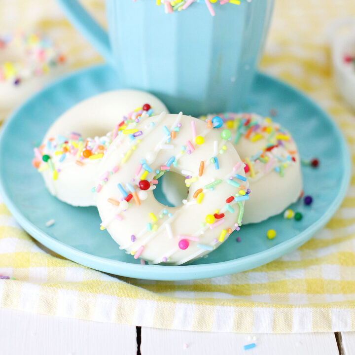 Donut Hot Cocoa Bombs