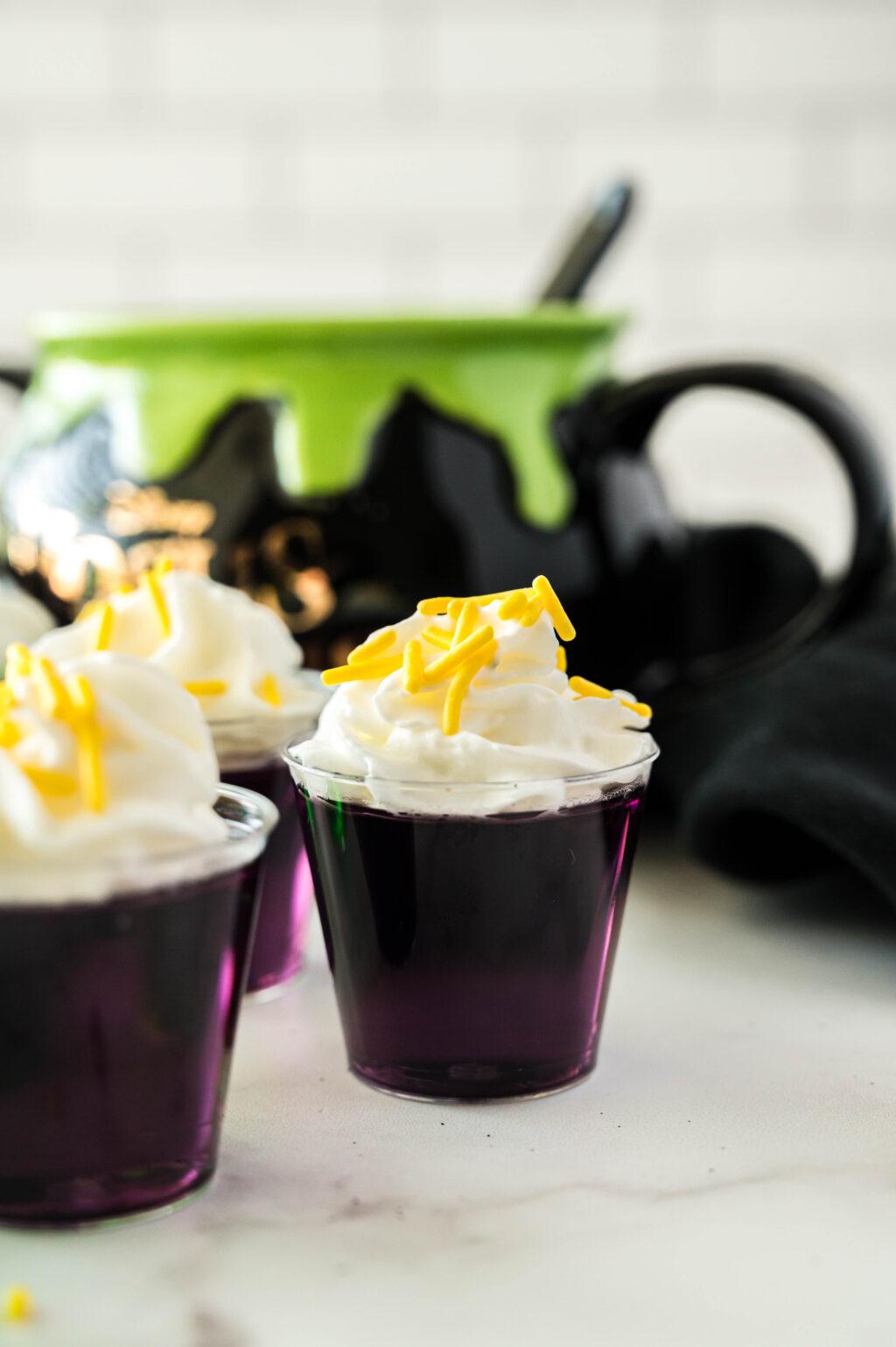 purple hocus pocus jello shot