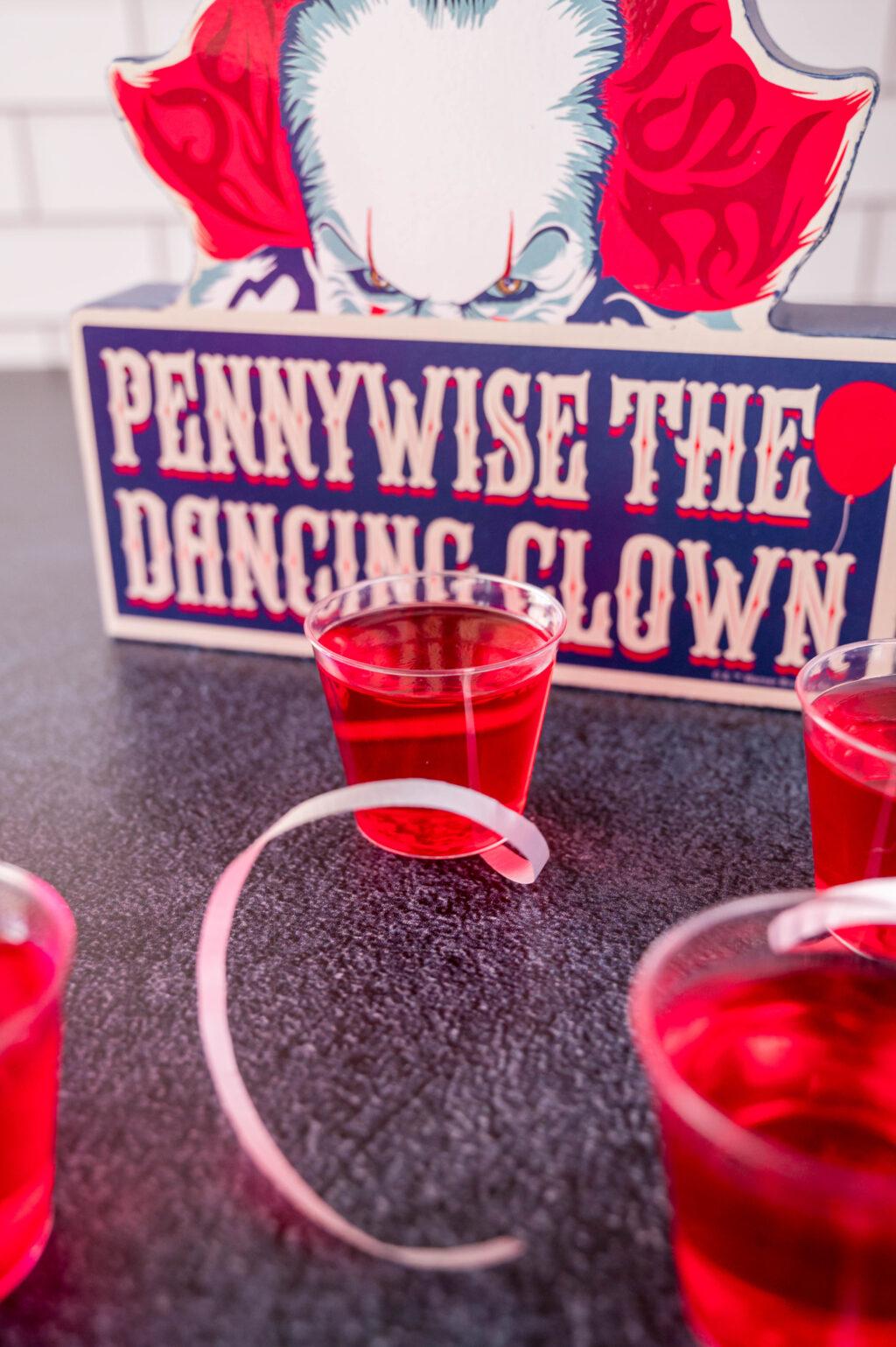 IT jello shots on a black table