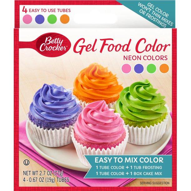 Betty Crocker Neon Green Gel Food Color