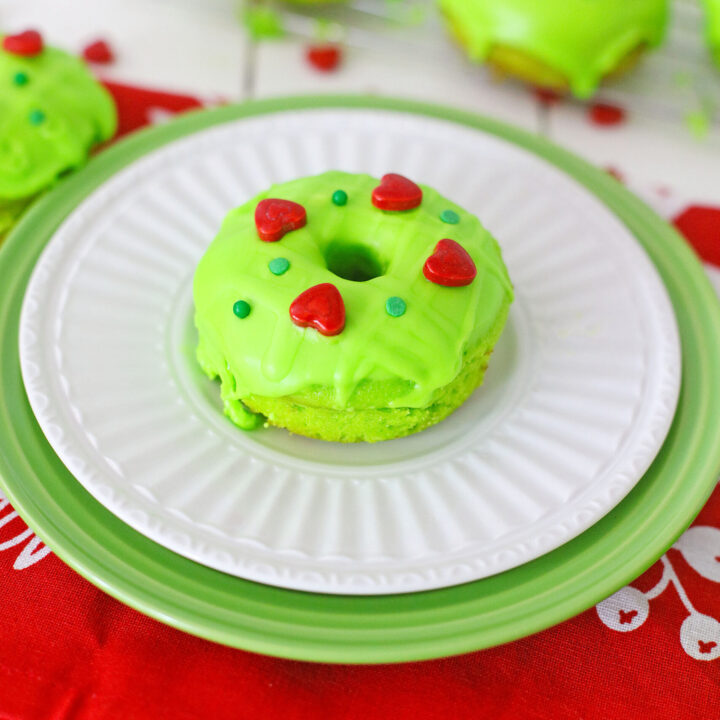 Grinch Donuts