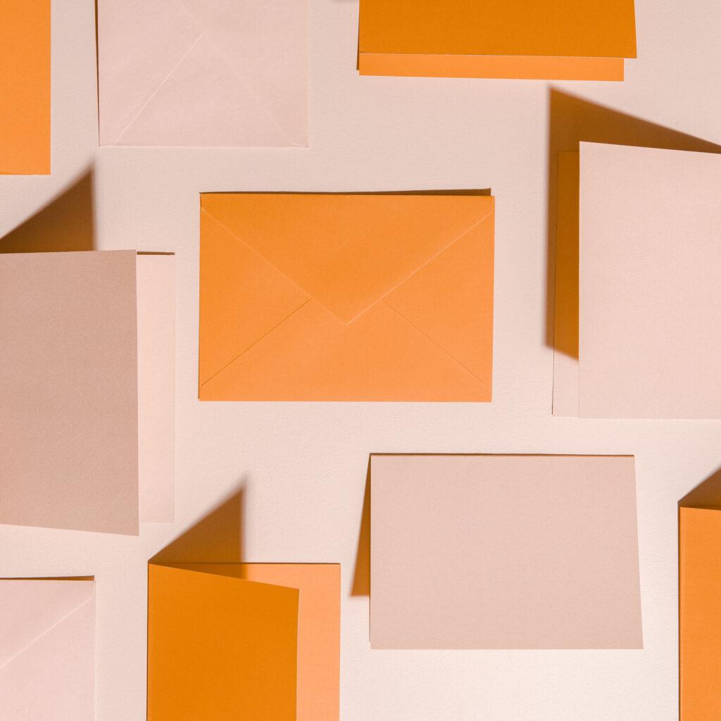orange envelopes for october savings challenge